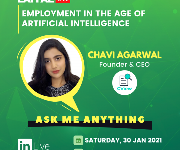 LAFFAZlive Episode #3- AMA- Employment in the afe of Artificial Intelligence